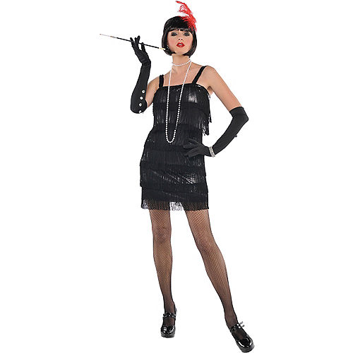 Adult Flashy Flapper Costume