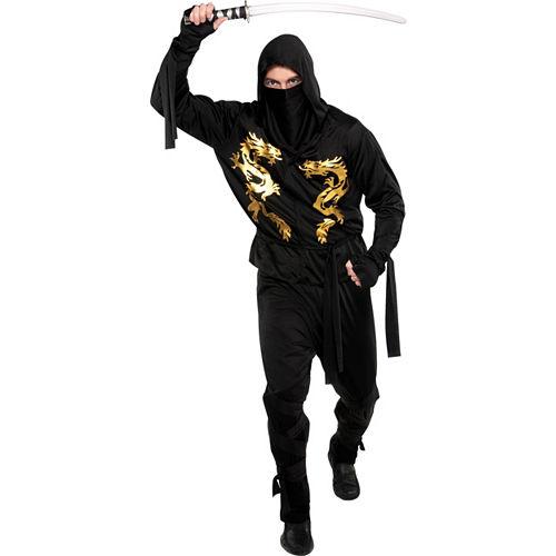 Adult Black Dragon Ninja Costume