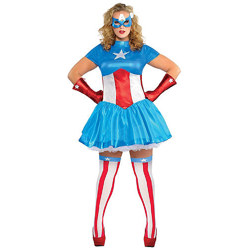 Adult American Dream Costume Plus Size