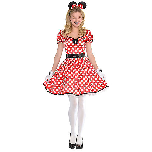 Adult Sassy Minnie Mouse Costume
