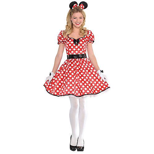 Adult Sassy Minnie Mouse Costume
