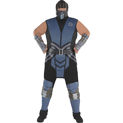 Adult Sub-Zero Costume Plus Size - Mortal Kombat