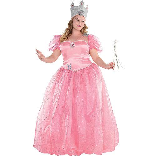 Womens Glinda Costume Plus Size - Wizard of Oz