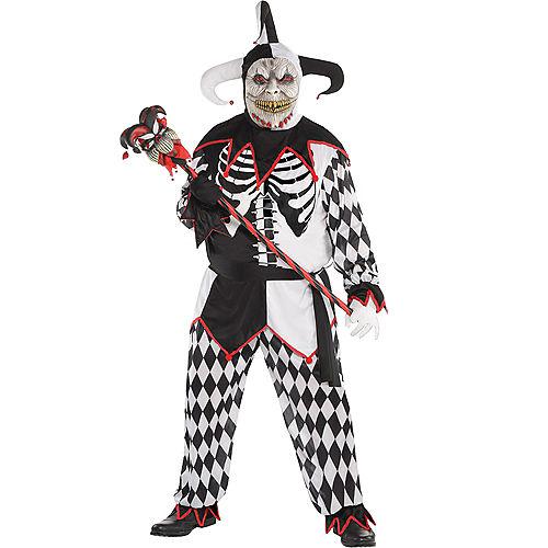 Adult Sinister Jester Costume Plus Size