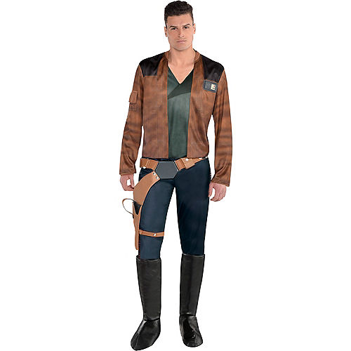 Mens Han Solo Costume - Solo: A Star Wars Story