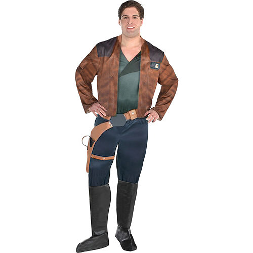 Mens Han Solo Costume Plus Size - Solo: A Star Wars Story