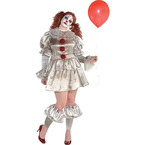Womens Pennywise Costume Plus Size - IT