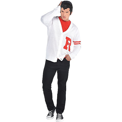 Mens Rydell High Letterman Sweater - Grease