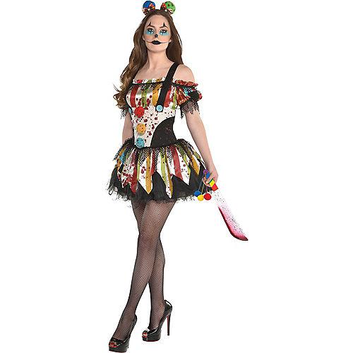 Womens Bloody Clown Dress