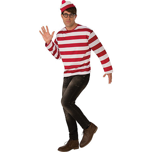 Mens Where's Waldo Costume
