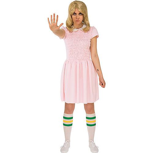 Womens Eleven Pink Dress Costume - Stranger Things