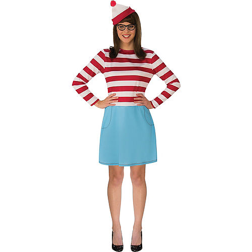 Womens Where's Wenda Costume - Where's Waldo