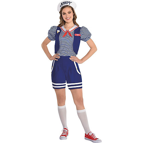 Adult Robin Scoops Ahoy Costume - Stranger Things