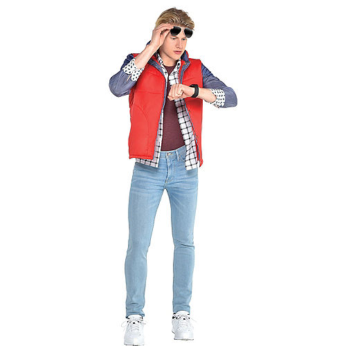 Adult Marty McFly Costume Accessory Kit - Back to the Future