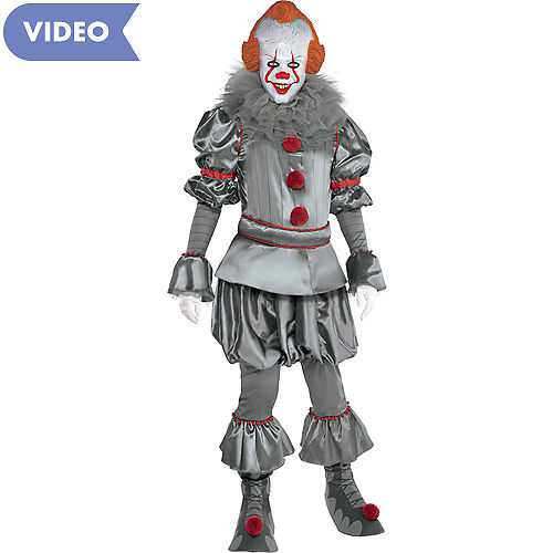 Adult Tattered Pennywise Costume - It Chapter Two