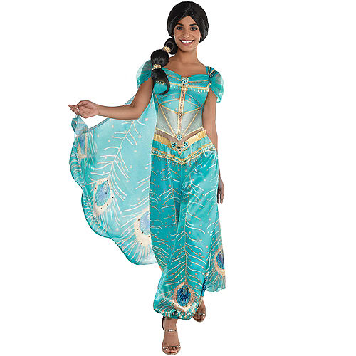 Adult Jasmine Whole New World Costume - Aladdin Live-Action