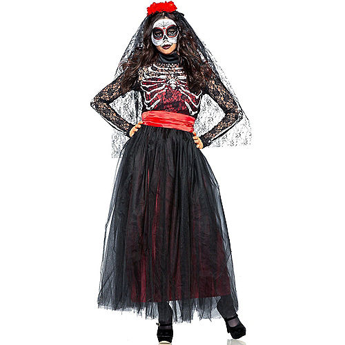 Adult Lacy Day of the Dead Costume