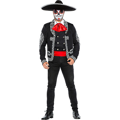 Adult Traditional Day of the Dead Costume
