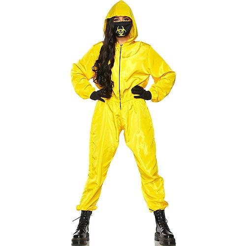 Radioactive Hazmat Suit Costume for Adults