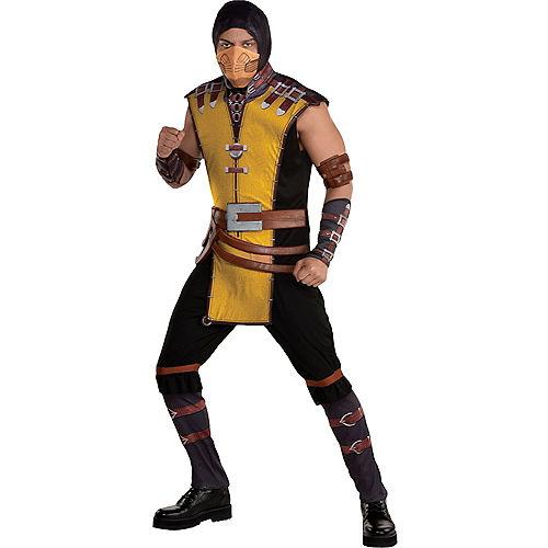 Adult Scorpion Costume - Mortal Kombat Klassic
