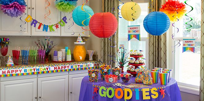 Birthday Party Supplies for Kids & Adults - Birthday Party Ideas ...