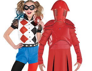 New Costumes for Kids