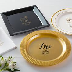 Personalized Wedding Plates