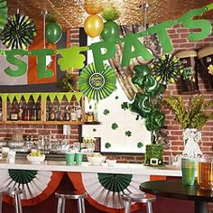 St Patrick's Day Party Supplies - Decorations Starting at 29¢