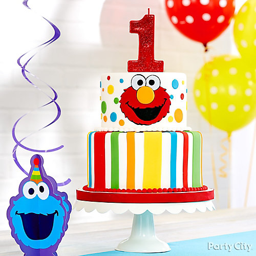 Elmo First Birthday Cake Idea