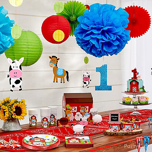 Farm Fun Decorations Idea