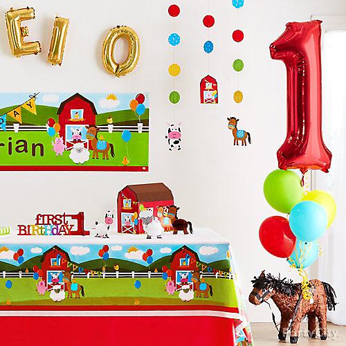 Farmhouse Fun Balloon Idea