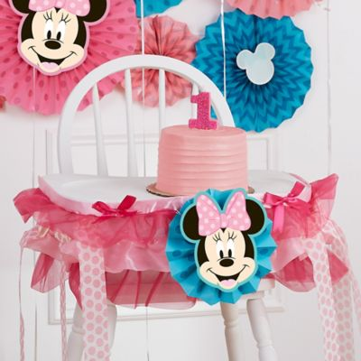 Minnie Mouse First Birthday Party Ideas