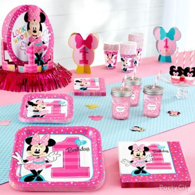 Minnie Mouse First Birthday Theme Idea Minnie Mouse First Birthday