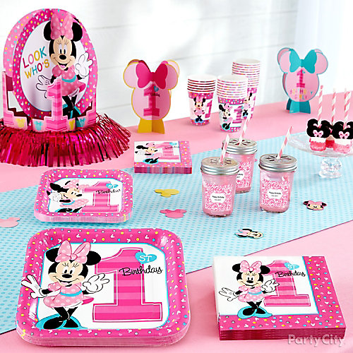 Minnie Mouse First Birthday Theme Idea
