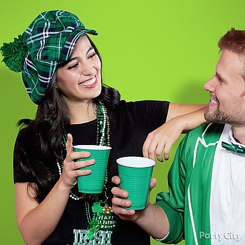 St. Patricks Day T-Shirt Plaid Cap Idea
