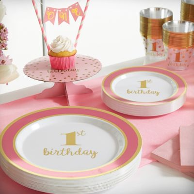 1st Birthday Party Supplies & Birthday Party Supplies and Decorations | Party City