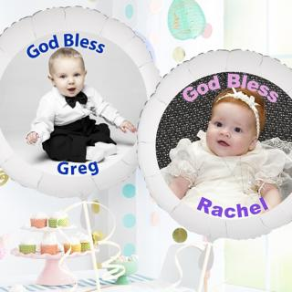 Personalized Easter Balloons