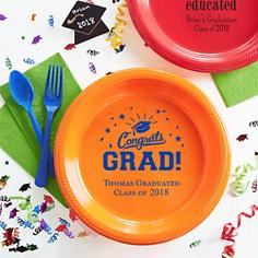 Personalized Graduation Plates