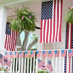 4th of July Bunting & Flags